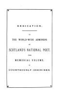 The Bibliography of Robert Burns PDF