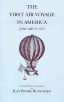 The First Air Voyage in America