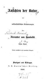 Ansichten der Natur: mit wissenschaftlichen Erläuterungen, Bände 1-2