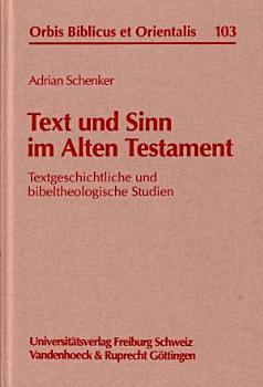 Text und Sinn im Alten Testament PDF