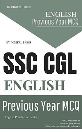 English Previous Year Questions Chapterwise SSC CGL COMBINED GRADUATE LEVEL PDF