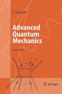 Advanced Quantum Mechanics PDF