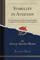 Stability in Aviation