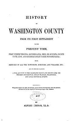 History of Washington County PDF