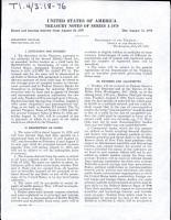 United States of America Treasury Notes of Series J 1979 PDF