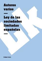 Ley de las sociedades limitadas españolas