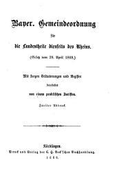 Volksausgabe bayerischer Gesetze: Band 5