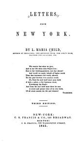 Letters from New York: Volume 1