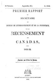 Journals of the Legislative Assembly of the Province of Canada. Appendix: Volume 13
