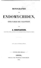 Entomographien: Abhandlungen im bereich der Gliederthiere, mit besonderer Benutzung der koenigl. Entomologischen Sammlung zu Berlin