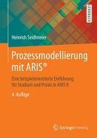 Prozessmodellierung mit ARIS   PDF