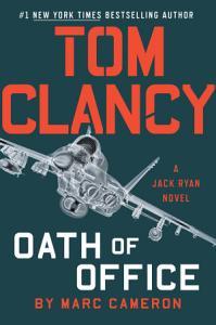 Tom Clancy Oath of Office Book