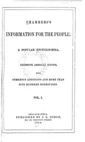Chambers's Information for the People: A Popular Encyclopaedia, Volume 1