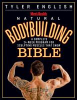 Men s Health Natural Bodybuilding Bible PDF
