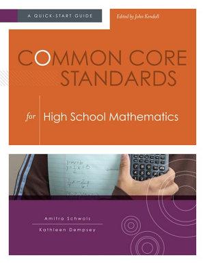 Common Core Standards for High School Mathematics