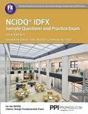 NCIDQ IDFX Sample Questions and Practice Exam Book