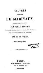 Oeuvres complètes de Marivaux: Volume1
