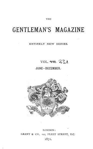 Gentleman s Magazine  Or Monthly Intelligencer PDF