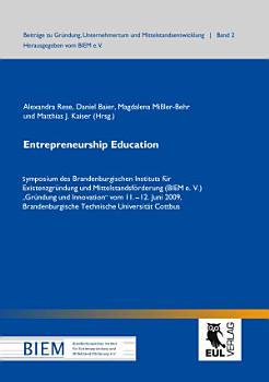 Entrepreneurship education PDF