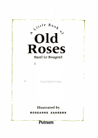 The Little Book of Old Roses PDF
