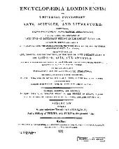Encyclopaedia Londinensis: Volume 19