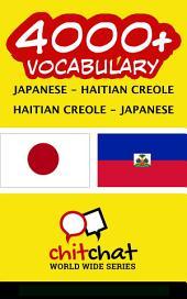 4000+ Japanese - Haitian Creole Haitian Creole - Japanese Vocabulary