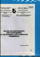 Major Accomplishments and Achievements of the National Anti Corruption Commission PDF