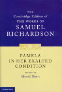 Pamela in Her Exalted Condition PDF