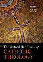 The Oxford Handbook of Catholic Theology PDF