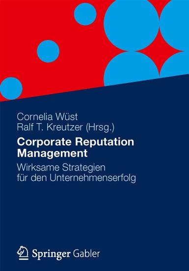 Corporate Reputation Management PDF