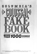 Columbia s Colossal Fake Book PDF