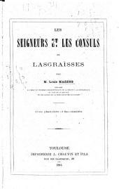 Les seigneurs et les consuls de Lasgraïsses