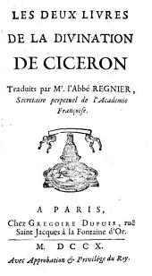 Les deux livres de la divination