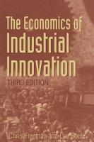 Economics of Industrial Innovation PDF