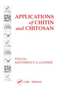 Applications of Chitan and Chitosan