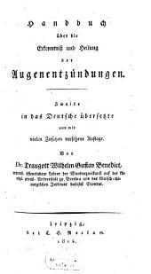 Handbuch über die Erkenntniss und Heilung der Augenentzündungen