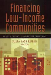 Financing Low Income Communities