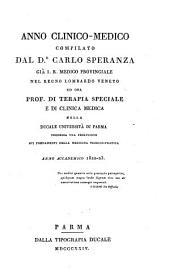 Anno clinico-medico: Volume 1