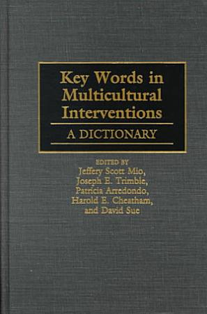 Key Words in Multicultural Interventions PDF