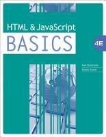 HTML and JavaScript BASICS PDF