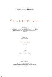 Hamlet: Volume 1