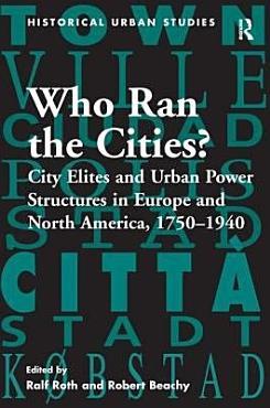 Who Ran the Cities  PDF
