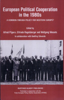 European Political Cooperation in the 1980s PDF
