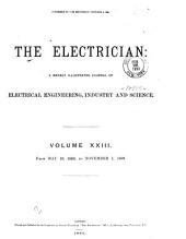 The Electrician: Volume 23