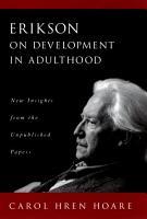 Erikson on Development in Adulthood PDF