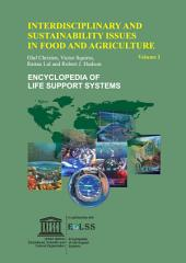 Interdisciplinary and Sustainability Issues in Food and Agriculture - Volume I
