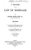 A Treatise on the Law of Mortgage PDF