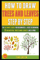 How To Draw Trees And Leaves Step By Step