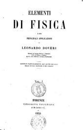 Elementi di fisica e sue principali applicazioni di Leonardo Doveri: 1