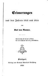 Erinnerungen aus den Jahren 1813 und 1814